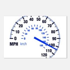 Racing - Speeding - MPH Postcards (Package of 8)