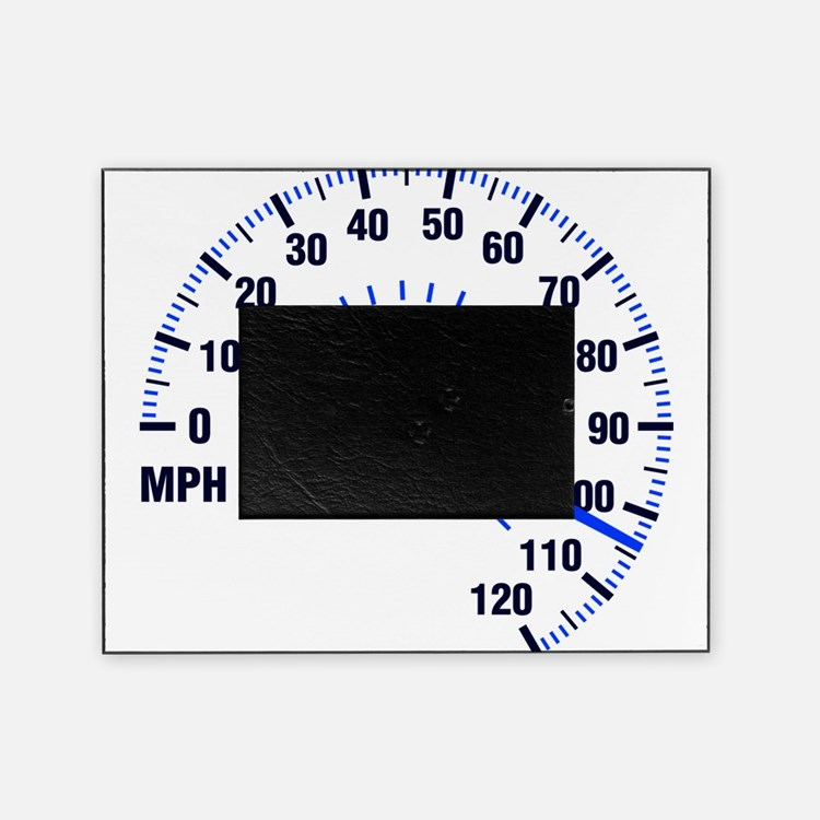 Racing - Speeding - MPH Picture Frame