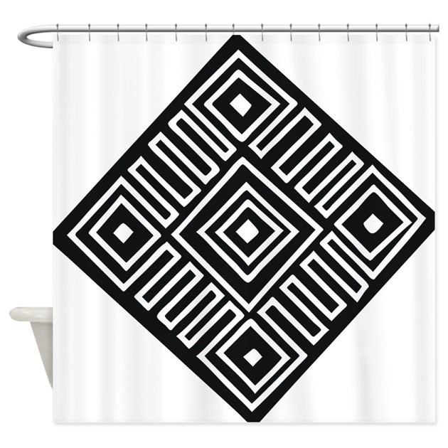 African Art - Tribal Shower Curtain by Admin_CP65475253