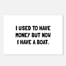 Money Now Boat Postcards (Package of 8)