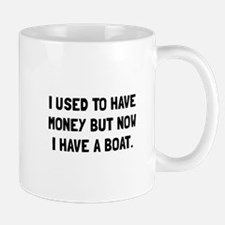 Money Now Boat Mugs