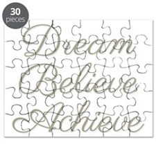 Dream Believe Achieve Puzzle
