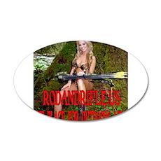 RodandRifle.US Archery Babe 2 Wall Decal