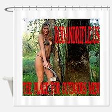 RodandRifleUS Archery1 Shower Curtain