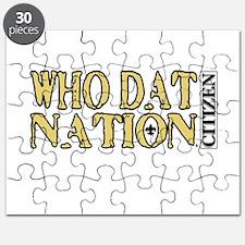 WHO DAT NATION - CITIZEN Puzzle