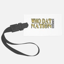 WHO DAT NATION - CITIZEN Luggage Tag
