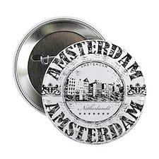 "Amsterdam Seal 2.25"" Button"