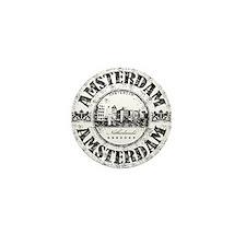 Amsterdam Seal Mini Button