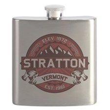 Stratton Red Flask