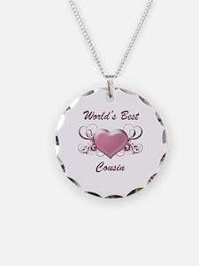World's Best Cousin (Heart) Necklace