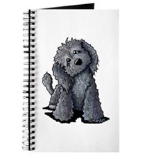 KiniArt Black Doodle Dog Journal