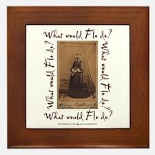 What would Flo Do? Framed Tile
