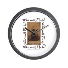 What would Flo Do? Wall Clock