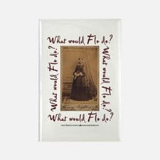 What would Flo Do? Rectangle Magnet (100 pack)