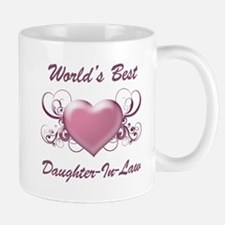 World's Best Daughter-In-Law (Heart) Mug