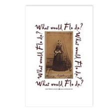 What would Flo Do? Postcards (Package of 8)