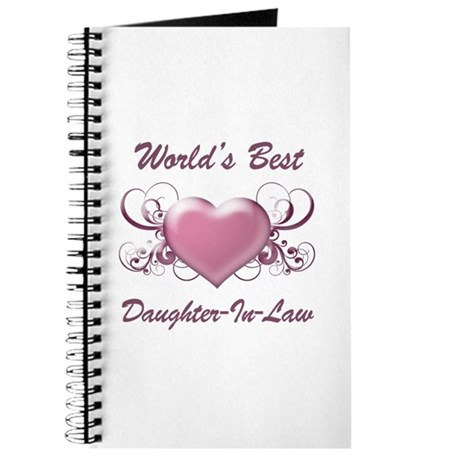 World's Best Daughter-In-Law (Heart) Journal