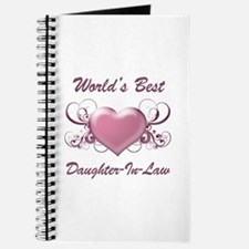 World's Best Daughter-In-Law (Heart) Journal