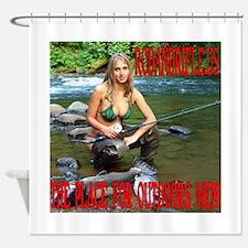 RodandRifleUS Big Catch Shower Curtain