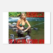 RodandRifleUS Big Catch Postcards (Package of 8)