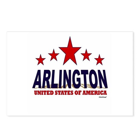 Arlington U.S.A. Postcards (Package of 8)