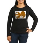 OLD SKOOL Women's Long Sleeve Dark T-Shirt