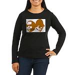 OLD SKOOL Women's Long Sleeve Dark T-Shirt