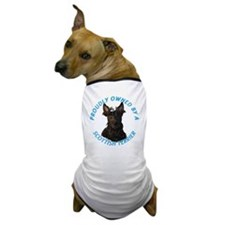 Proudly Owned by a Scottish Terrier Dog T-Shirt