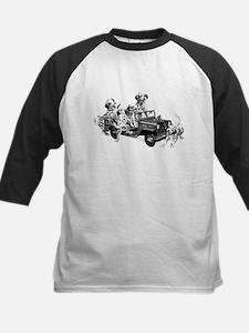 Dalmatians in a Fire truck Baseball Jersey