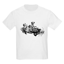 Dalmatians in a Fire truck T-Shirt