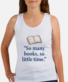 So many books - Women's Tank Top