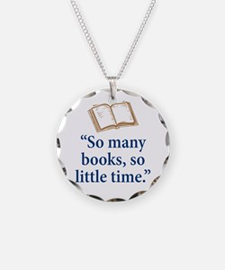 So many books - Necklace