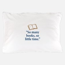 So many books - Pillow Case