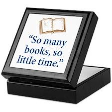So many books - Keepsake Box