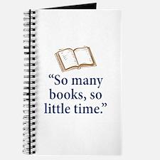 So many books - Journal