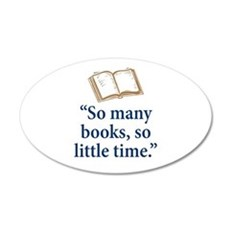 So many books - Wall Decal