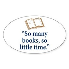 So many books - Decal