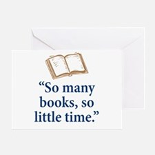 So many books - Greeting Card