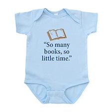 So many books - Infant Bodysuit