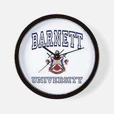BARNETT University Wall Clock