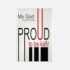 PROUD TO BE KAFIR Rectangle Magnet