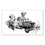 Fire truck Stickers & Flair