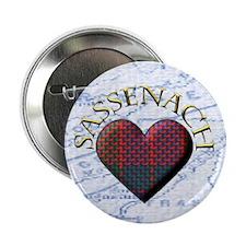 "Sassenach Heart 2.25"" Button"