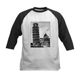 Leaning tower of pisa Baseball Jersey