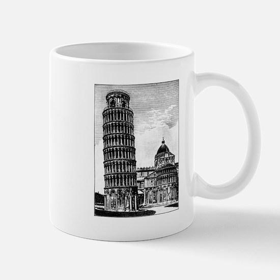 Leaning Tower of Pisa Mugs