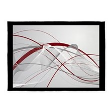 Belle Rouge - Home Collection 5'x7'Area Rug