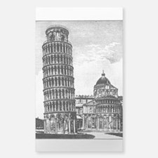 Leaning Tower Of Pisa Decal