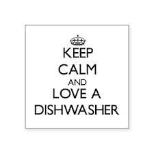 Keep Calm and Love a Dishwasher Sticker