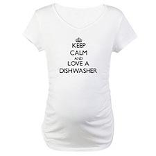Keep Calm and Love a Dishwasher Shirt