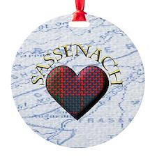 Sassenach Heart Ornament